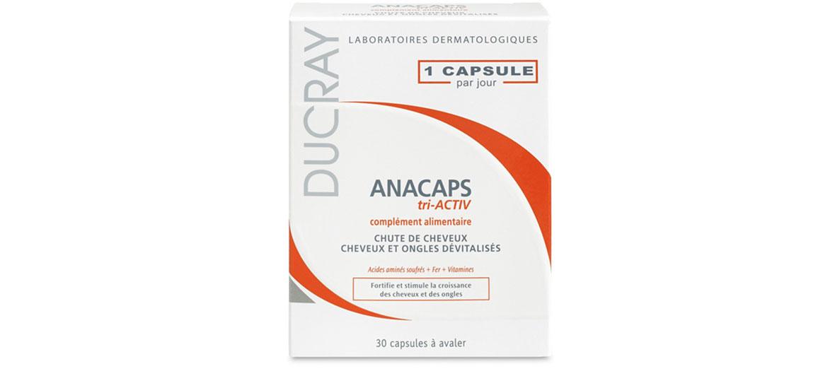 Gélules Anacapas des laboratoires Ducray