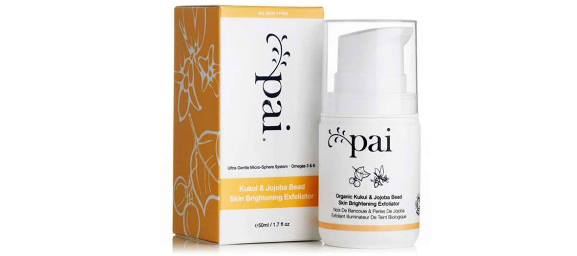 Skin brightening exfoliator by Pai