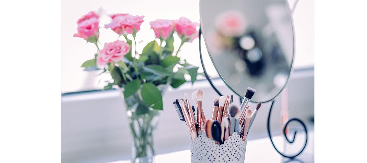 Produits de beauté, belle peau, teint radieux