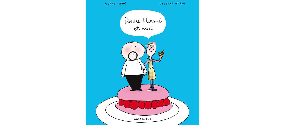 Bande dessinée de recettes de cuisine par Pierre Hermé