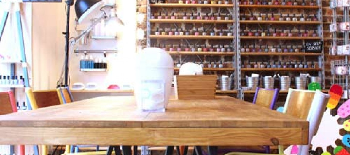 Coffee Shop Nail Art Couture Made In Oberkampf Nail Club