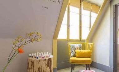 Un Nail Bar Kure Bazaar Planque Dans La Suite D Un Palace