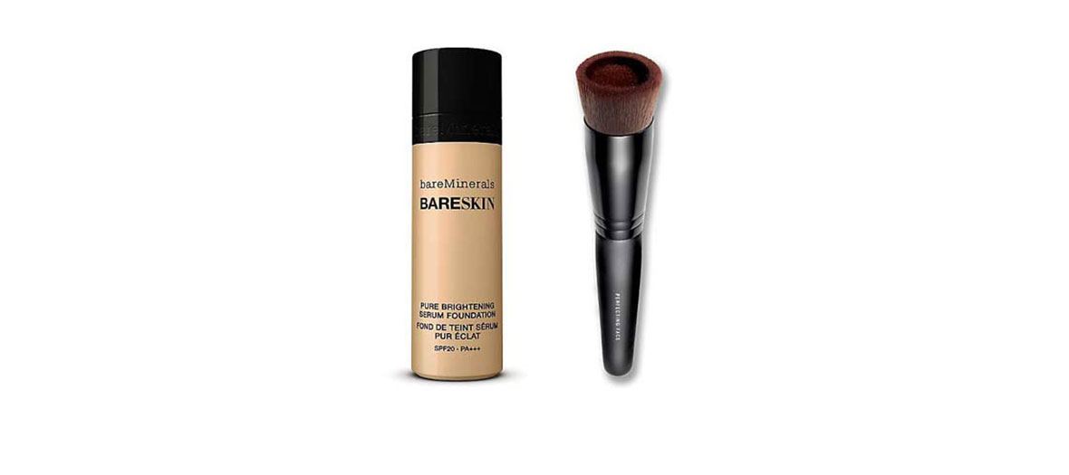 Foundation and serum by Bare Minerals