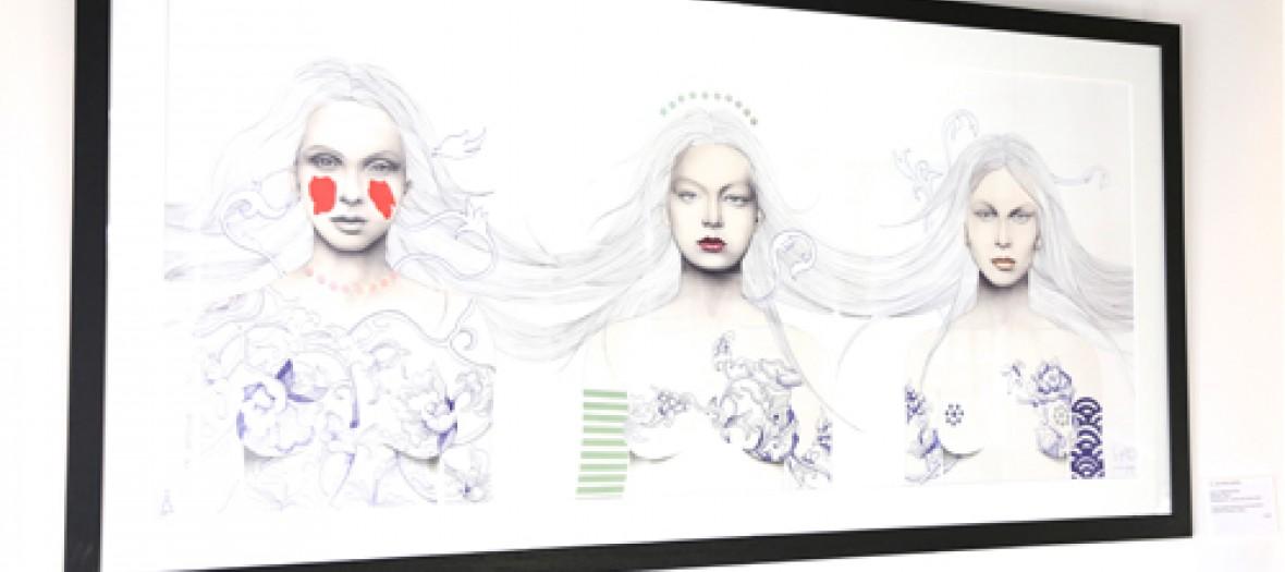L Expo De Portraits Tres Fashion