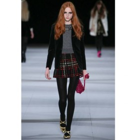 Le Look London Calling Chez Saint Laurent