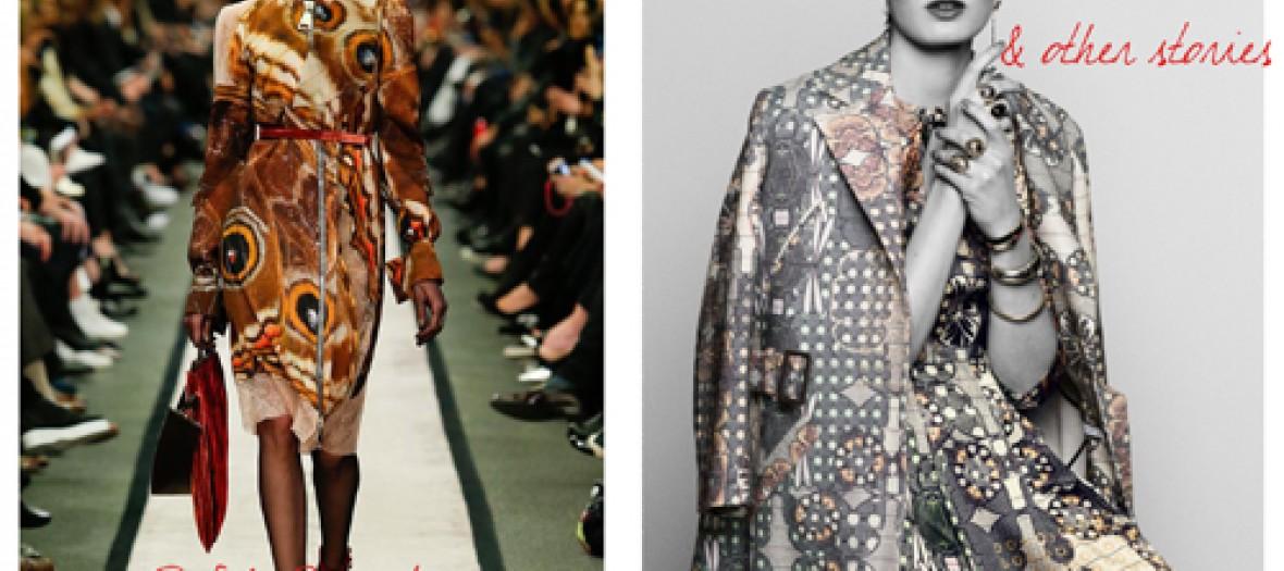 La Robe Imprimee Papillon Givenchy Chez Other Stories
