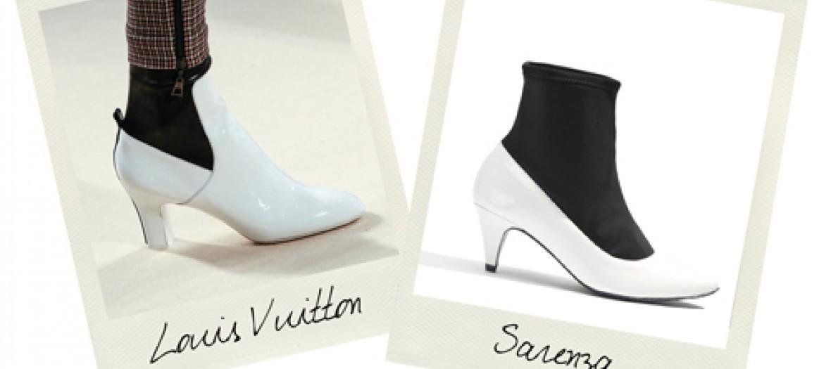 Les Bottines Sixties Vuitton Chez Sarenza