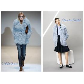 Le Manteau Bouclette Gucci Chez Claudie Pierlot