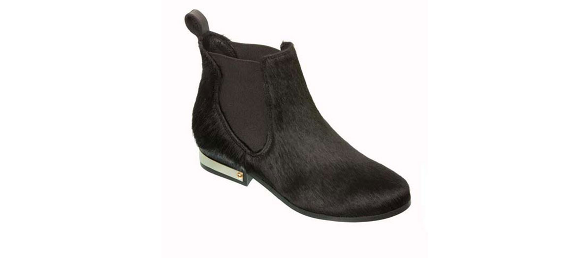 Bottines en cuir Claudine Pierlot