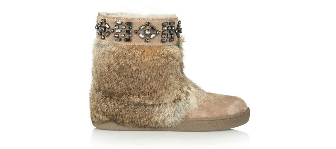 "Bottines ""bijou"" par Tory Burch"