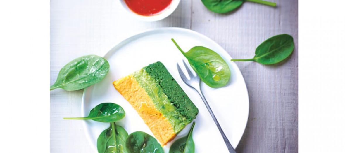 Terrine de Légumes dressé dans une assiette