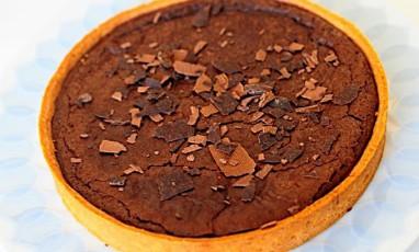 Chocolate delight tart