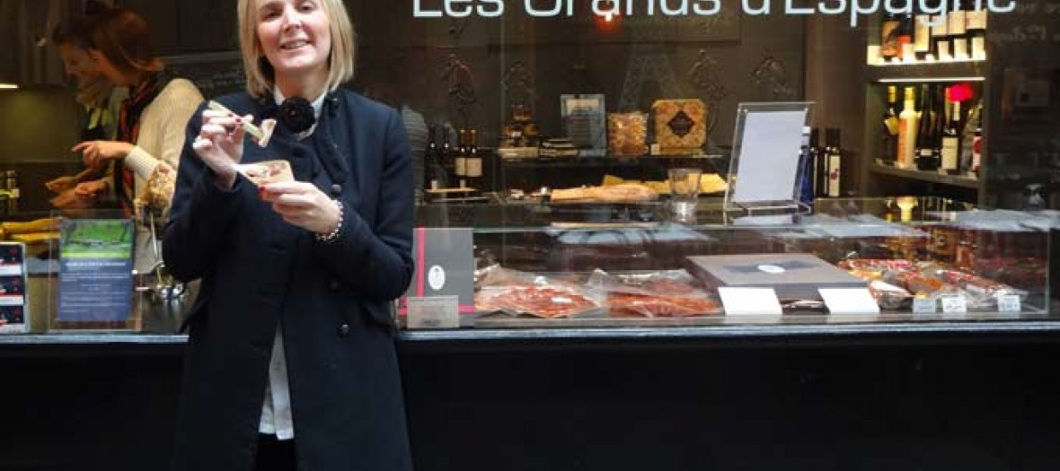 Vitrine grands d'Espagne street food