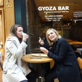 Terrasse bar Goyza fast food nippon restaurant d'auteur