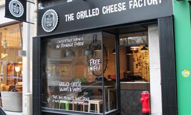 La Grilled-Cheese Factory : un sandwich qui envoie