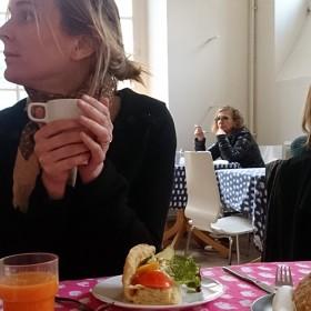 Cafe suedois sandwich