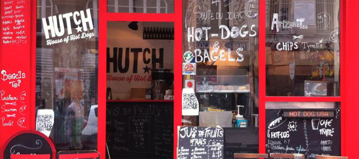 Devanture Hutch Hot Dog House
