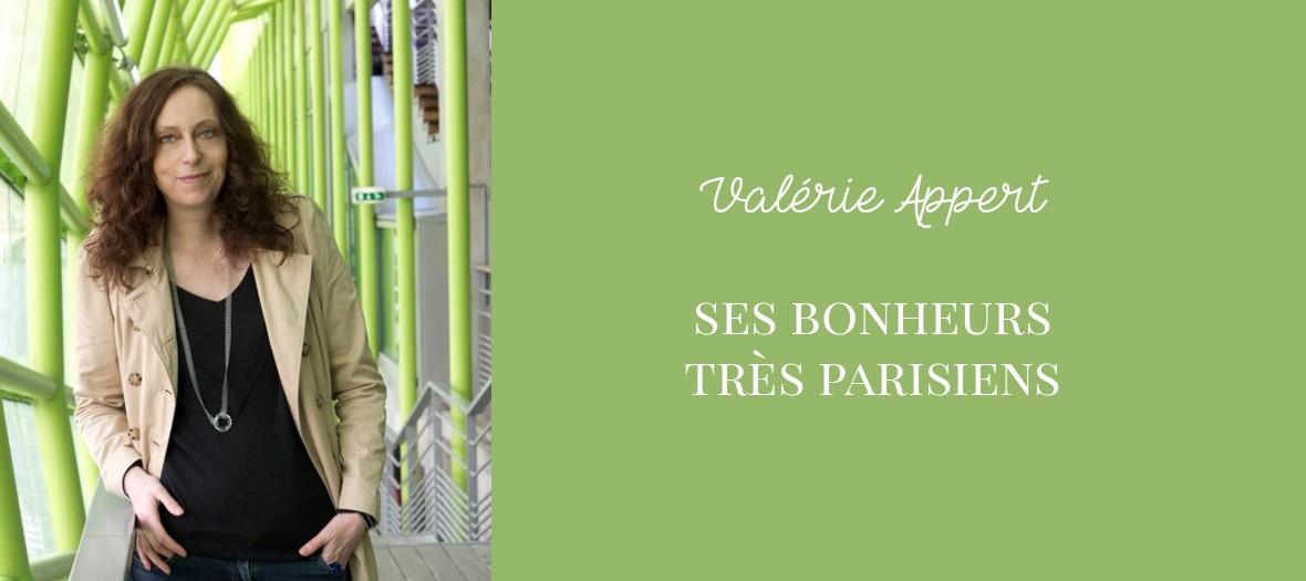 Les bons plans très parisiens de Valérie Appert