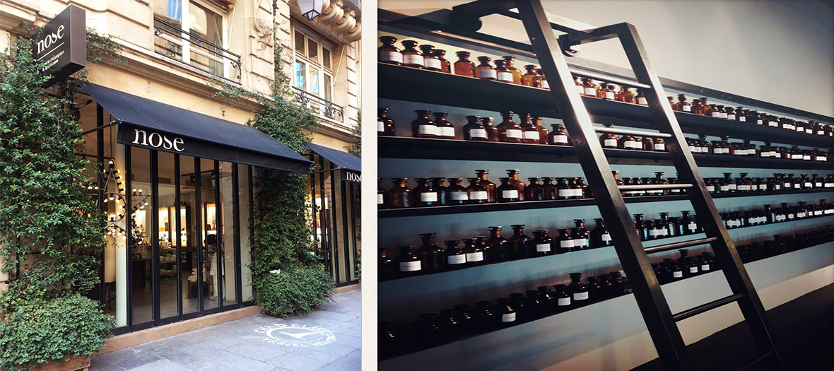 La boutique de parfums sur mesure Nose
