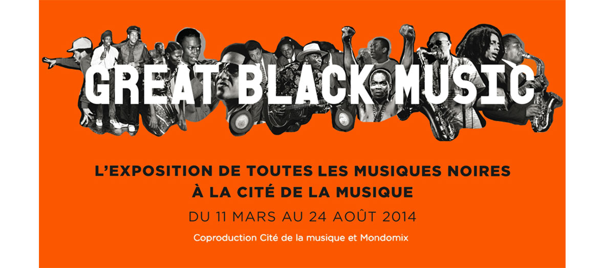 Great Black Music exhibition visuals