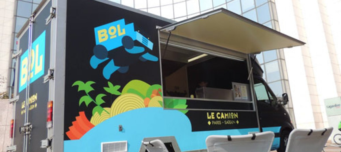 Vroum Le Food Truck Camion Bol
