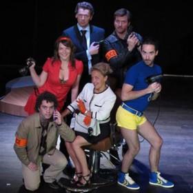 Une Enquete Au Theatre Land