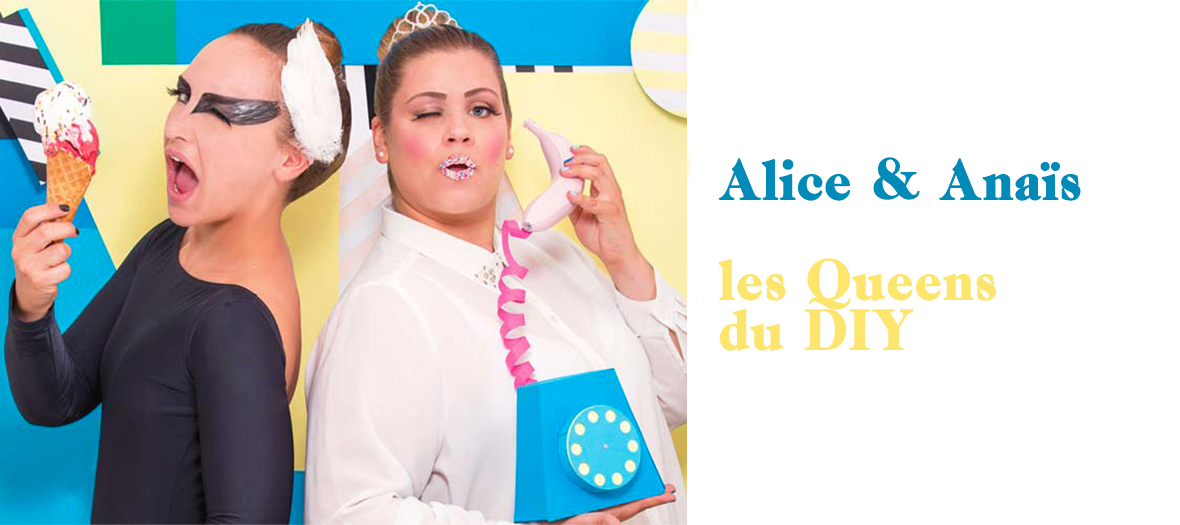 Le on do it yourself with alice et ana s - Les comptoirs du bricolage ...