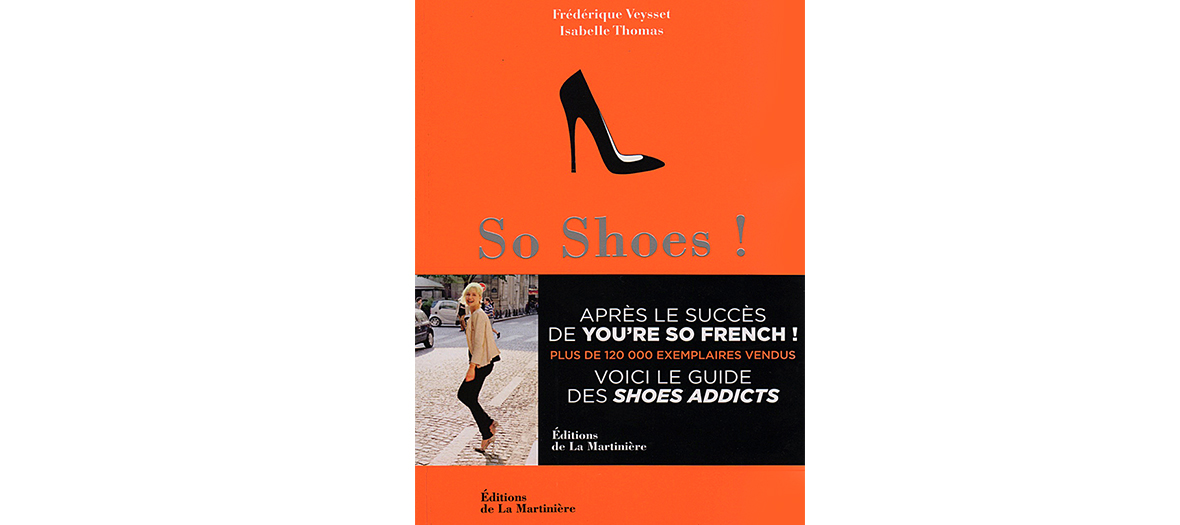 So shoes, a book by Isabelle Thomas et Frédérique Veysset