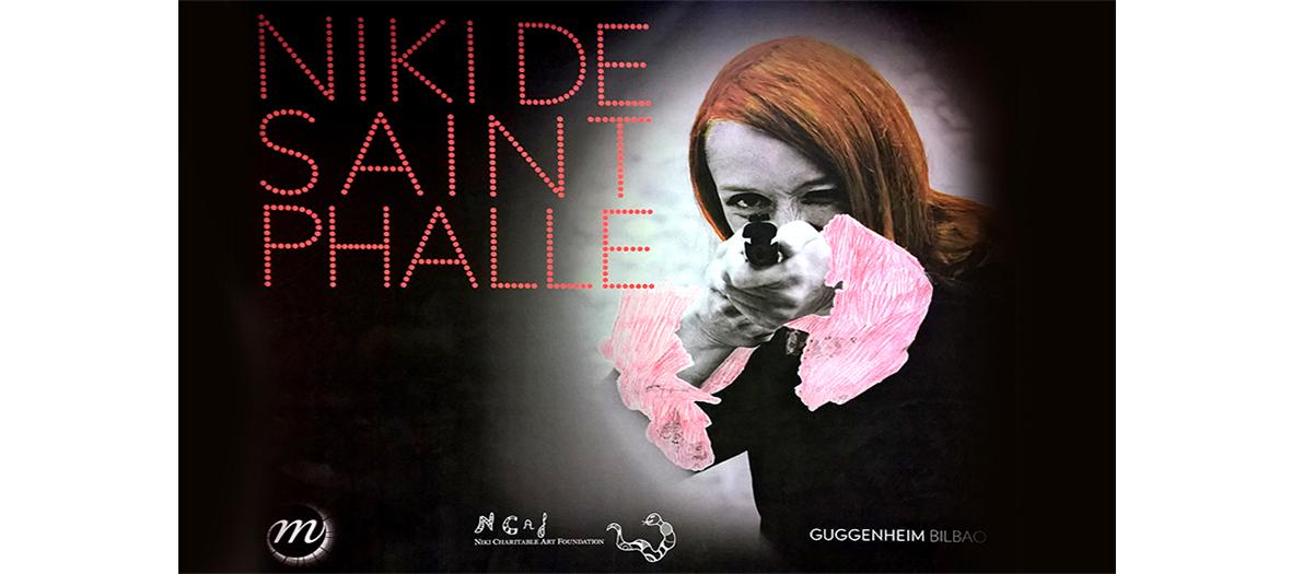 Affiche de l'exposition Nikki de Saint Phalle