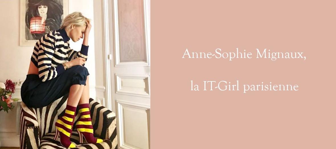 Rencontre avec la  It Girl Anne-Sophie Mignaux