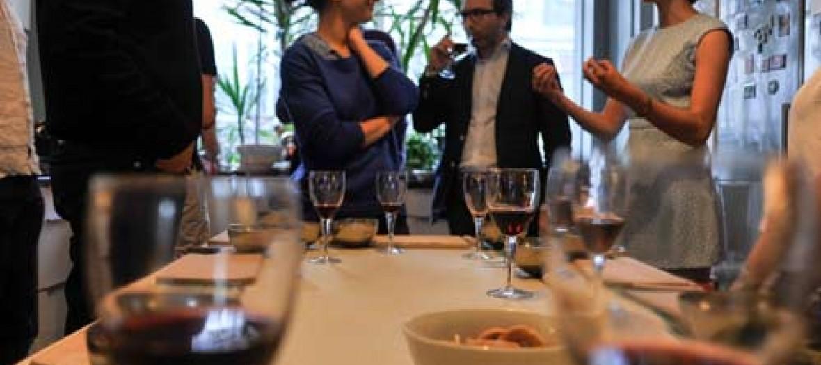 Mes Cours De Cuisines Facon Salon A L Italienne Dans Un Lieu Mag