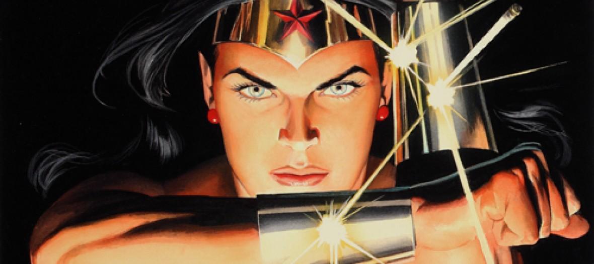 Batman Et Wonder Woman Au Musee L Expo Des Super Heros