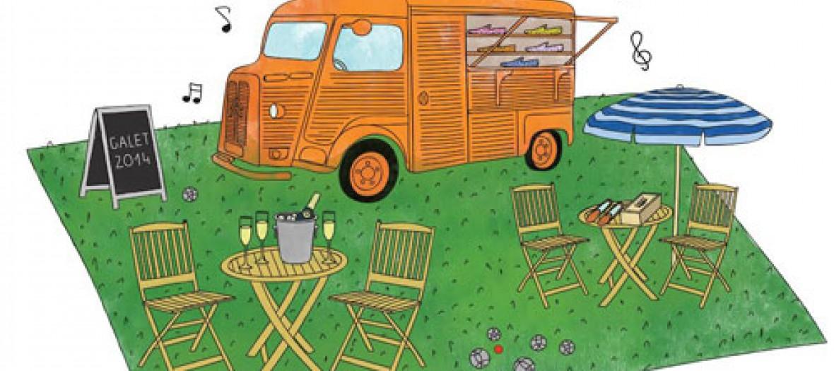 Un Camion A Slippers Dans Le Marais
