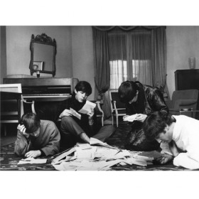 Beatles Reading Fan Mail Benson1964 Lg