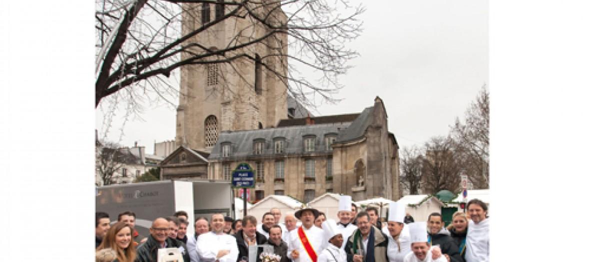 Les Galettes De Grands Chefs Pour La Bonne Cause