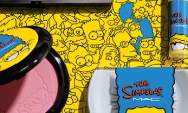 Marge Simpson : une égérie très POP chez  MAC