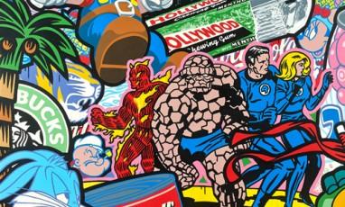 An arty-cool exhibition near the Champs-Elysées