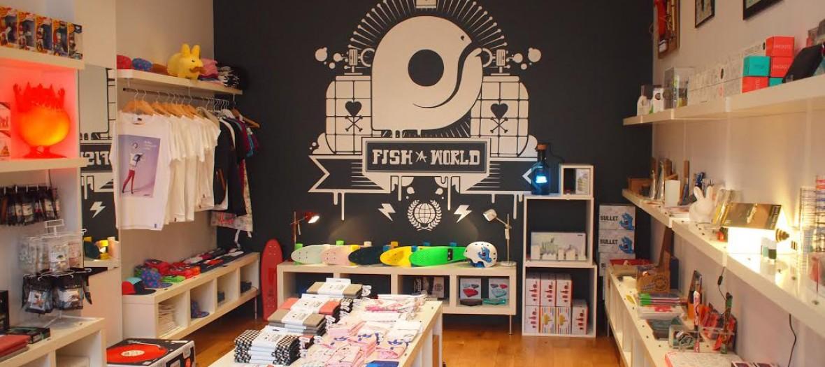9mr Fish Un Concept Store Tres Skate Et Deco