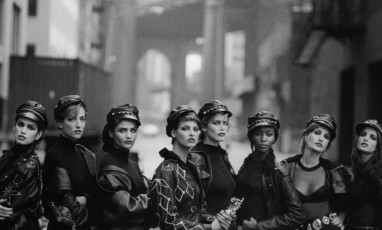 The very fashion photo exhibition of Peter Lindbergh