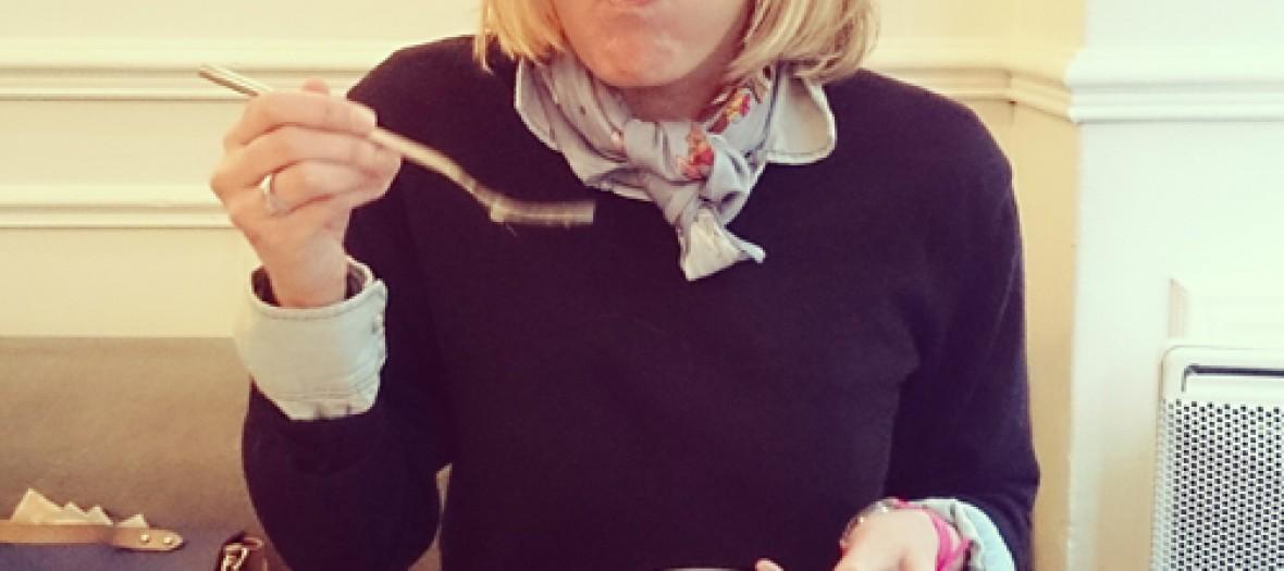 Presentation des boulettes de viande de chez Balls dans son restaurant au cadre très sympathique