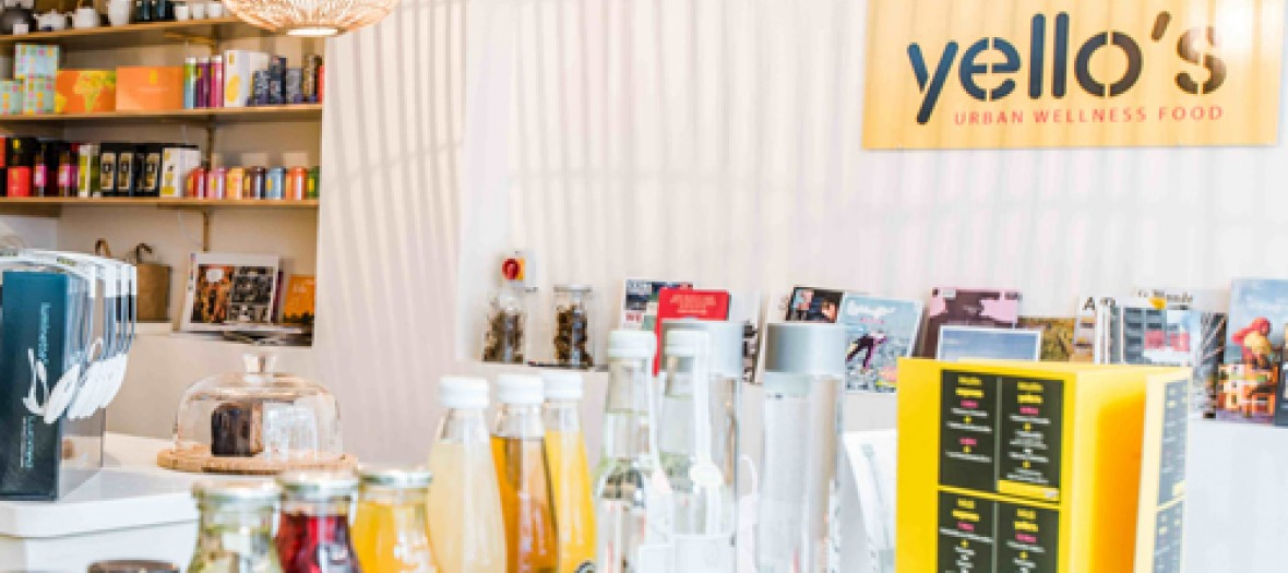 Yello s interior healthy drinks