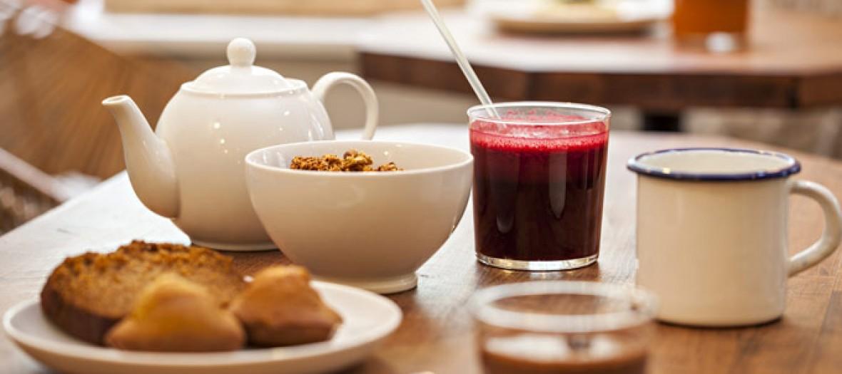 Les brunchs healthy au cafe pinson