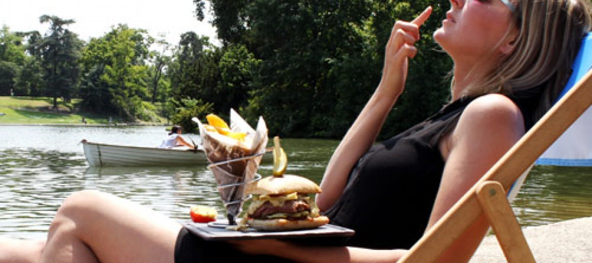 Chalet des iles burger