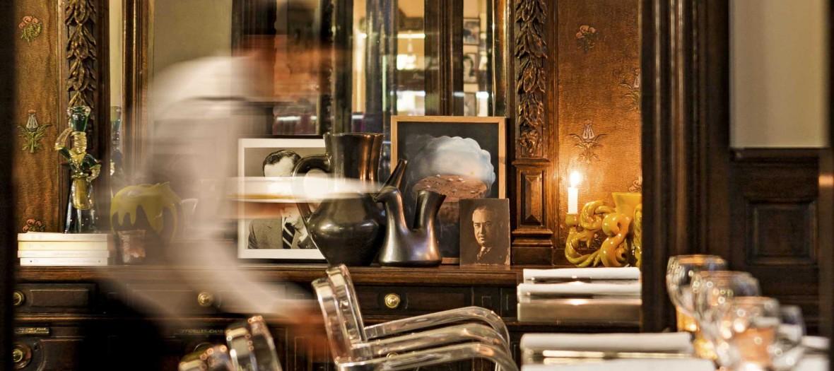 Caffe Stern Un Bistrot Italien Et Mondain Signe Starck By Fausto