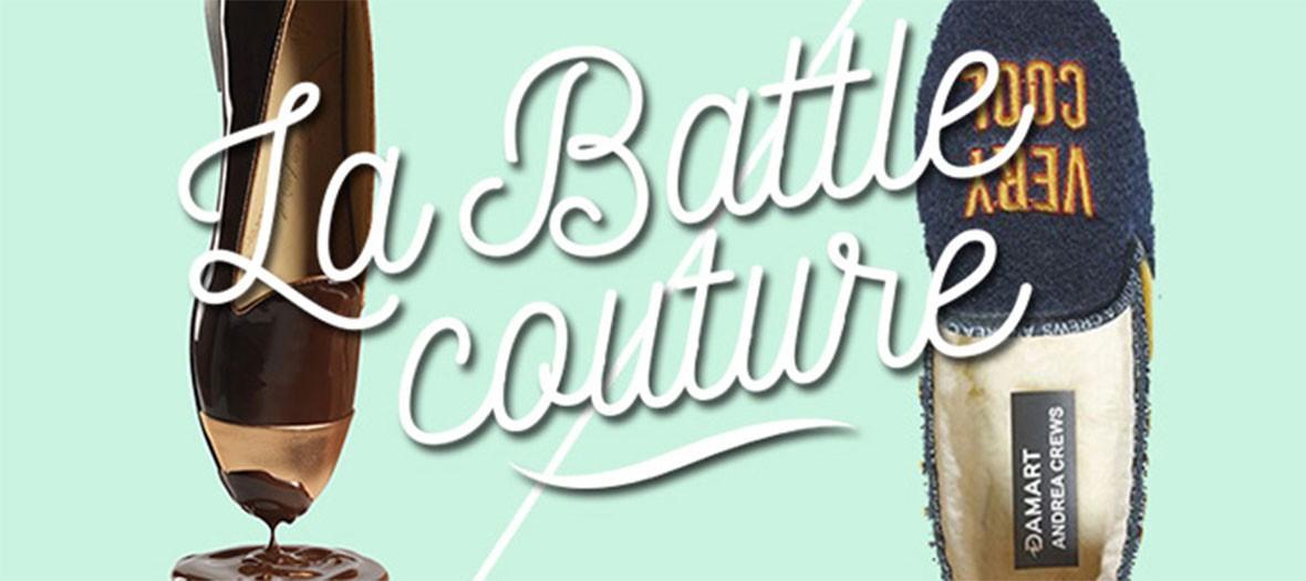la battle couture édtion chaussures
