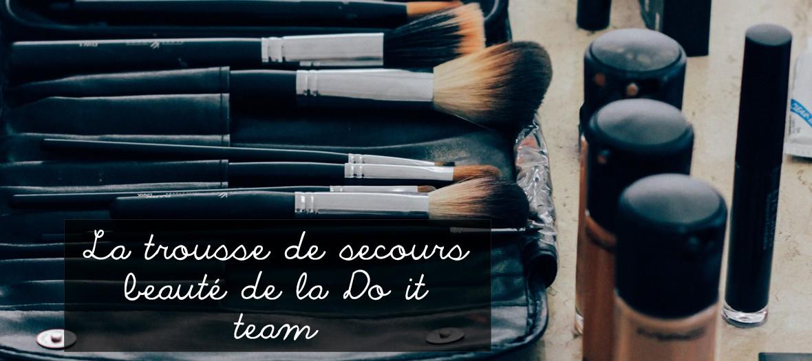 Le kit beauté de la do it team