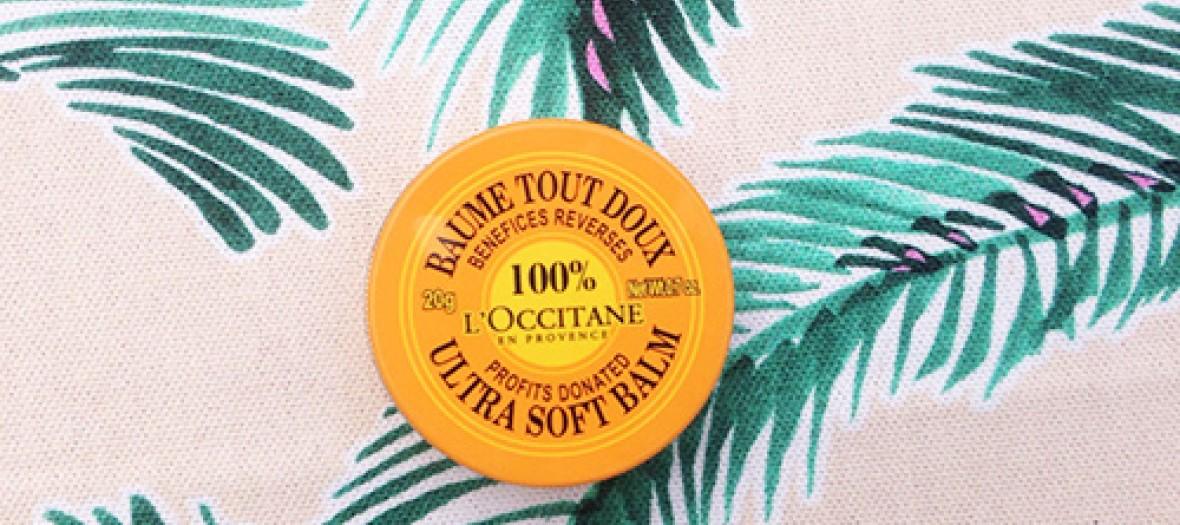 Le baume tout doux pour les lèvres l'Occitane