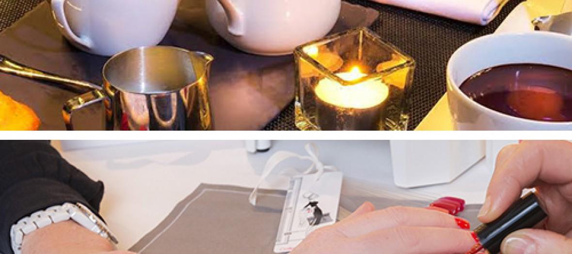 Manucure Couture Et Chocolat Chaud De Luxe