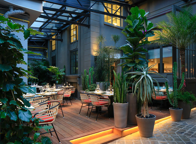 Sinople le jardin d 39 hiver le plus secret de paris for Restaurant avec jardin terrasse paris
