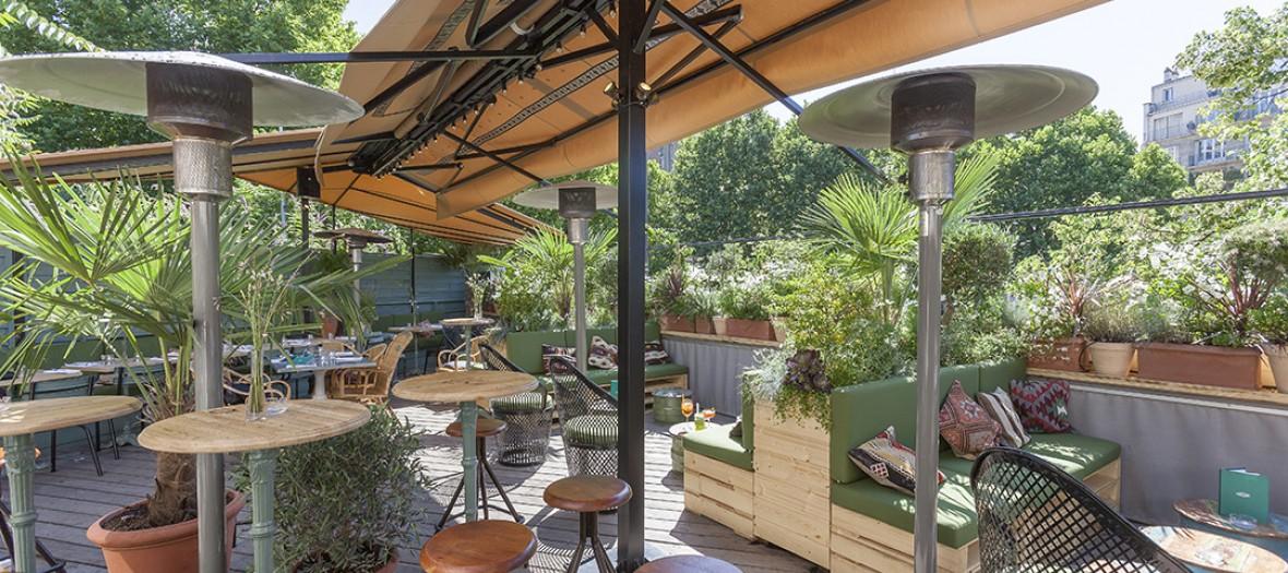 Auteuil brasserie terrasse
